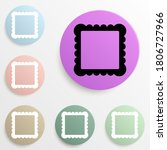 picture frame badge color set....