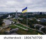 Kyiv   National Flag Of Ukrain...