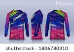 t shirt sport design template ...   Shutterstock .eps vector #1806780310