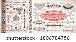 set of banners and design... | Shutterstock .eps vector #1806784756