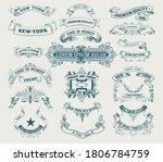 mega set of banners. vector... | Shutterstock .eps vector #1806784759