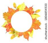 Autumn Round Wreath With...