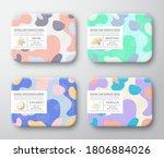 bath care cosmetics boxes set.... | Shutterstock .eps vector #1806884026
