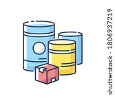 raw materials rgb color icon.... | Shutterstock .eps vector #1806937219