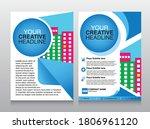corporate business flyer... | Shutterstock .eps vector #1806961120