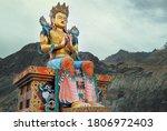 Maitreya Buddha Statue Near The ...