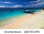 local traditional boat. gili... | Shutterstock . vector #180701594