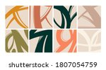 trendy backgrounds  patterns.... | Shutterstock .eps vector #1807054759