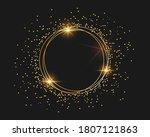 vector illustration of golden... | Shutterstock .eps vector #1807121863