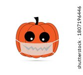 Vector Illustration Pumpkin...