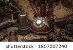 Vintage Desk Telephone Old...