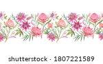 beautiful horizontal seamless... | Shutterstock . vector #1807221589