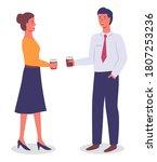 vector flat illustration of... | Shutterstock .eps vector #1807253236