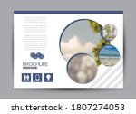 flyer template. brochure design.... | Shutterstock .eps vector #1807274053