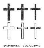 Cross Vector Shape Symbol...