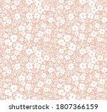 vector seamless pattern. pretty ... | Shutterstock .eps vector #1807366159