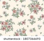 elegant floral pattern in small ...   Shutterstock .eps vector #1807366693