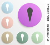 ice cream badge color set....