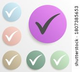 check mark badge color set....