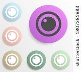 lens badge color set. simple...