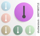 thermometer badge color set....
