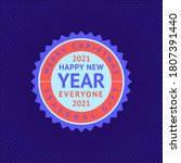 happy new year and merry... | Shutterstock .eps vector #1807391440
