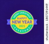 happy new year and merry... | Shutterstock .eps vector #1807391449