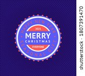 happy new year and merry... | Shutterstock .eps vector #1807391470
