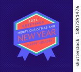 happy new year and merry... | Shutterstock .eps vector #1807391476