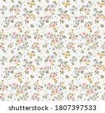 floral pattern. pretty flowers... | Shutterstock .eps vector #1807397533