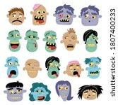 zombie avatar. spooky monster...   Shutterstock .eps vector #1807400233
