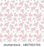 cute floral pattern in the... | Shutterstock .eps vector #1807401703