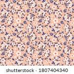 floral pattern. pretty flowers... | Shutterstock .eps vector #1807404340