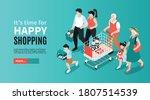 isometric generation family...   Shutterstock .eps vector #1807514539