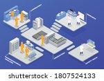 pharmaceutical production... | Shutterstock .eps vector #1807524133