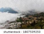 Fog Covered Over Yuan Yang Ric...
