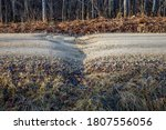 Gravel Road  Frost Heave And...