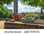 Medieval Italian Town Of Lucca