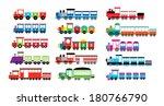 train vector | Shutterstock .eps vector #180766790