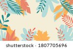 illustration in a simple flat... | Shutterstock .eps vector #1807705696