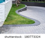 modern landscape  detail of... | Shutterstock . vector #180773324