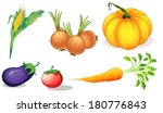 illustration of the healthy... | Shutterstock .eps vector #180776843