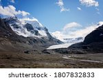 The Athabasca Glacier In The...
