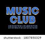 vector premium poster music... | Shutterstock .eps vector #1807850329