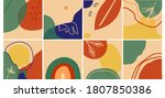 big set of abstract backgrounds....   Shutterstock . vector #1807850386