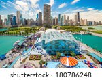 chicago  il   oct 1  navy pier... | Shutterstock . vector #180786248
