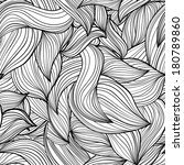 monochrome seamless abstract... | Shutterstock .eps vector #180789860