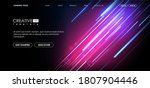 vector background with shiny... | Shutterstock .eps vector #1807904446