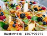 A Closeup Shot Of Fresh Fruits...