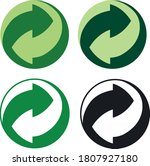 Please Recycle Sign Vector...